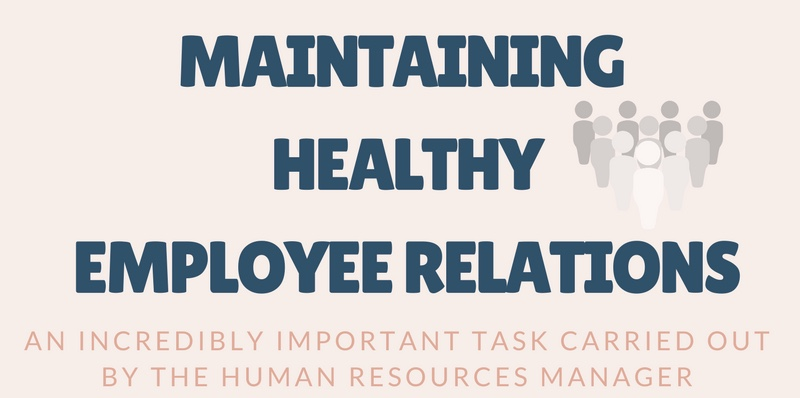 Maintaining healthy employee relations
